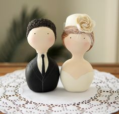 Custom Couple Cake Topper