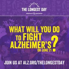 Do what YOU love and support the Alzheimer's Association! alz.org/longestday #ENDALZ #Alzheimers #RVA #Dementia #Caregiver