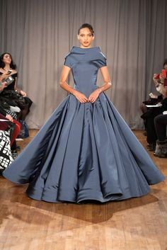 Zac Posen, Fall 2014, New York