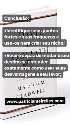 Davi e Golias - Malcolm Gladwell part 7