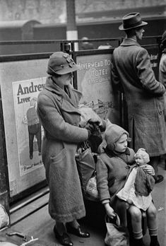 Evacuation of Children, Paddington Station 1940