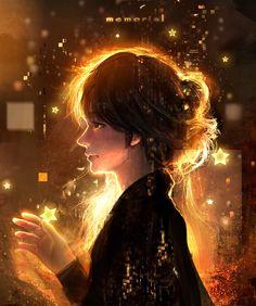 Kai Fine Art is an art website, shows painting and illustration works all over the world. Amazing Drawings, Amazing Art, Art Drawings, Matte Painting, Digital Art Girl, Anime Scenery, Anime Art Girl, Anime Girls, Photo Illustration