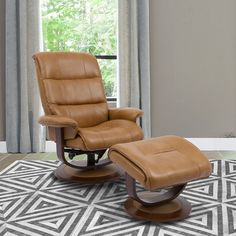Swivel Recliner Chairs, Recliner With Ottoman, Modern Recliner, Leather Recliner, Leather Lounge, Recliners, New Living Room, Living Room Chairs, Living Spaces