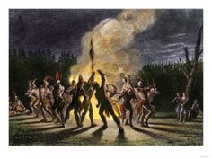 American Indian's History: Native American Custom of Building Fire Over a Grave