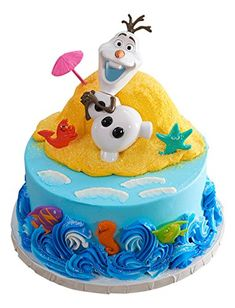 Frozen Olaf Disney CakeThis week was a Birthday Celebration in Milnesville. My daughter turned 7 and we had a fab Birthday. This was her Disney Frozen Olaf cake from Asda. Edible Cupcake Toppers, Cupcake Picks, Anna Cake, Olaf Party, Olaf Cake, Frozen Themed Birthday Party, Frozen Cake Topper, Disney Frozen Olaf, Disney Cakes