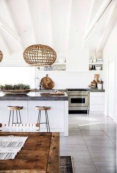Home - Kitchen Goals. Wooden Accenets