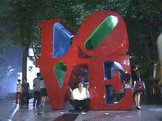 LOVE Sculpture in Shinjuku, Tokyo