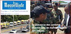 Senado Haití reclama militares dominicanos en 'ayuda humanitaria' desalojen su territorio