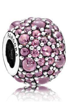 Abalorio Pandora plata Gotas Brillantes 791755HCZ