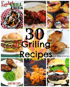 Small Things: 30 Grilling Recipes