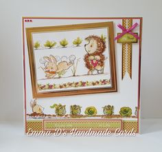 Made using Hunkydory Crafts  Fun on the Allotment kit
