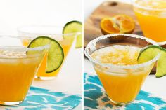 Tangerine Margaritas | 15 Creative Takes on your Margarita