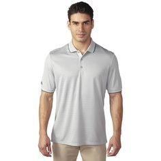 Take classic style and comfort to the course or the office with the adidas® climacool® Performance Golf Polo. climacool® fabric inserts for engineered zonal cooling at underarms. Mens Golf Outfit, Golf Attire, Adidas Golf, Adidas Men, Adidas Country, Polo Shirt White, Golf Polo Shirts, Golf Shoes, Shorts