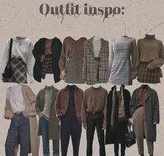 Aesthetic Fashion, Look Fashion, Aesthetic Clothes, Korean Fashion, Fashion Outfits, Womens Fashion, Retro Outfits, Cute Casual Outfits, Vintage Outfits
