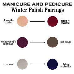 scotch naturals winter polish pairings