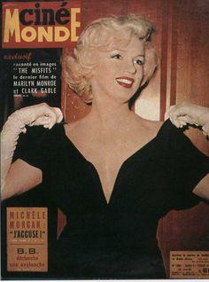 Marilyn Monroe - cinemonde cover 02 21 1961 | by greta_g