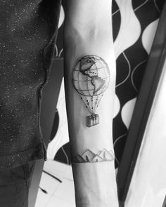 Globe Tattoo Ideas | POPSUGAR Smart Living