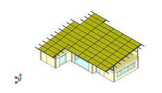 Progetto Strutturale di una Copertura, Calderara di Reno, 2015 - Giuseppe Vitale
