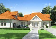 Projekt domu PLK-160 - DOM CL1-08 - gotowy projekt domu