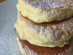 しっとりふわふわパンケーキ♡♡の画像 Sweets Recipes, Cake Recipes, Cooking Recipes, Desserts, Souffle Pancakes, Fluffy Pancakes, Cute Food, Food Menu, Summer Recipes
