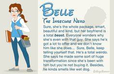 If Disney Princesses went to high school... SO funny, especially cuz there's actually these type of girls in high school