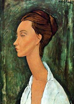 Amedeo Modigliani - Retrato de Lunia Czechowska