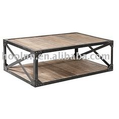 Vintage Industrial Coffee Table HL408