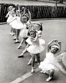 Learnt Ballet - about as hopeless as these littlelys
