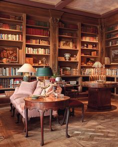 Betty Gertz Dallas Home Library Designed By Axel Vervoordt