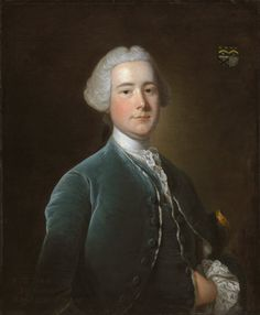 Thomas Hudson (attributed) - Portrait of William Fytche of Bengal 1752