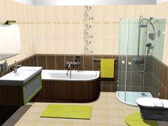 Bathroom interior design made of Zorka Keramika Tiles - Cioccolato Collection