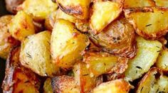 Perfect with any meal; these roast potatoes are the ultimate side dish.