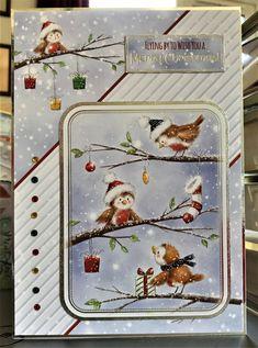 Hunkydory - The Magic of Christmas - - Christmas card Christmas Cards 2018, Xmas Cards, Handmade Birthday Cards, Handmade Cards, Hunky Dory, Five Little, Crafters Companion, Little Books, A5