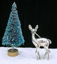 SOLD!  Sterling Deer Brooch Beau Sterling Silver by AtticDustAntiques