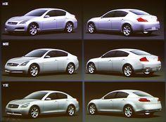 OG | 2007 Infiniti G35/G37 / Nissan Skyline | Design proposals