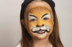 Face paint: lion step-by-step - Learning & play - Practical Parenting Awards -MadeForMums