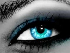 black and blue eyes wallpaper Android Central - My Best Makeup List Natural Eye Makeup, Natural Eyes, Blue Eye Makeup, Makeup For Brown Eyes, Makeup Eyes, Eyeshadow Makeup, Natural Beauty, Beauty Makeup, Scary Eyes