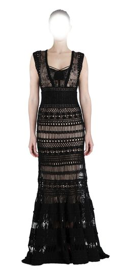 Image result for hairpin lace dress
