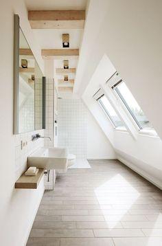 34 meilleures images du tableau Salle de bains sous combles - Mon ...