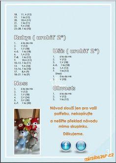 Crochet Teddy, Crochet Patterns Amigurumi, Crochet Toys, Little Baby Girl, Braids For Long Hair, Bear Toy, Baby Girl Gifts, Crochet Animals, Stuffed Toys Patterns