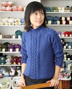 Carrick Pullover pattern by Ram Wools Yarn Co-op - free