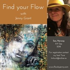 workshops | Mixed Media Art by Jenny Grant