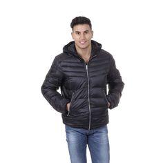 Diesel Men's Hooded Puffer Jacket BLACK #Diesel #Puffer