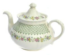 Mason's Patent Ironstone Madrigal Pattern Teapot by BiminiCricket