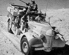 Long Range Desert Group Jeeps and Pink Panthers - Kopfdorfer
