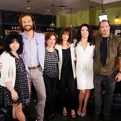 The cast of #GilmoreGirls reunited at #ATXFestival. Tune in to #TODAY next week for the interview! (photo via @anthonyquintano)