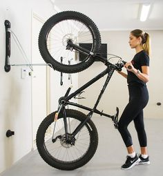 The Steadyrack Fat rack is the only bicycle storage solution for Fat Bikes. The Fat Bike Rack accommodates tyres up to 5 inches wide. Bike Hooks, Bike Hanger, Vertical Bike Rack, Vertical Storage, Fat Bike, Garage Velo, Bike Storage Rack, Wall Storage, Bicycle Storage Garage