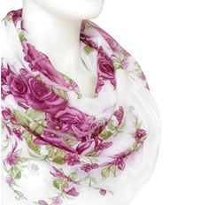 Cotton Scarf, Floral Prints, Amazon, Purple, Fashion, Moda, Floral Patterns, Amazons, Riding Habit
