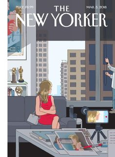 Available in: Print Magazine.The New Yorker magazine is unparalleled in its combination of reporting, criticism, commentary, fiction and cartoons. The New Yorker, New Yorker Covers, Print Magazine, Magazine Art, Magazine Covers, Chris Ware, Skottie Young, Bd Comics, Feminist Art