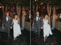 Timeless Fall Wedding Inspiration with Vogue Glamour at The Foundry - Chic Vintage Brides Chic Wedding, Luxury Wedding, Summer Wedding, Wedding Day, Chic Vintage Brides, Southern Bride, Wedding Designs, Confetti, Fields